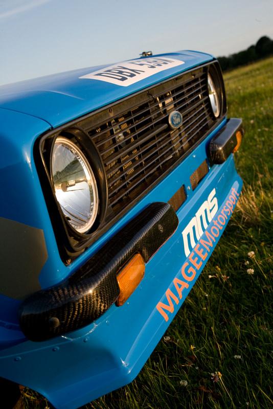 Mk2 Escort Carbon Fibre Front 1/4 Bumpers