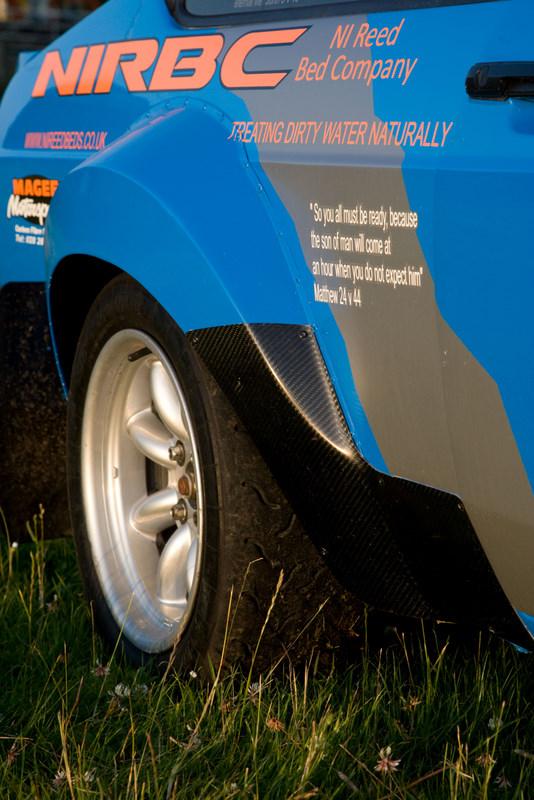 Mk2 Escort Carbon Fibre Tarmac Arch Protectors