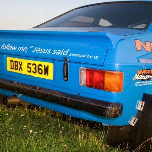 MK2 Escort Carbon Fibre Rear Bumper